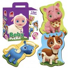 Baby Puzzles MAXI «Farm»