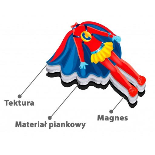 Magnesowa ubieranka «Ewa»