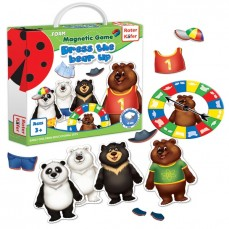 Magnetic game «Dress the bear up»