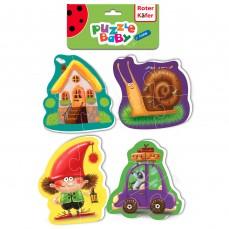 Baby puzzle «Bajkowe ze skrzatem»
