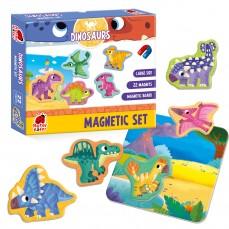 Gra magnetyczna «Dinozaury»