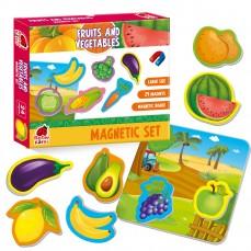 Gra magnetyczna «Owoce i jwarzywa»
