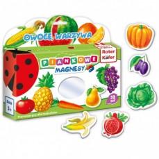 Mój mały świat na magnesach «Owoce, warzywa»