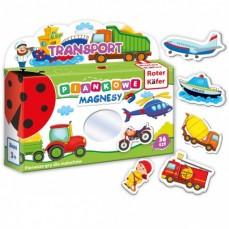 Mój mały świat na magnesach Transport