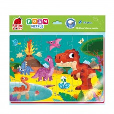Foam puzzles A4 «Funny pictures»